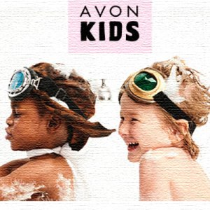 Avon kids having fun in the tub.