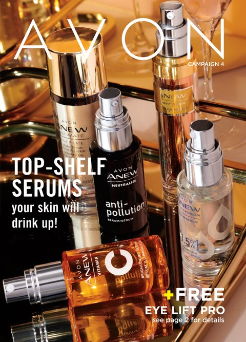 Buy Avon Online - current Avon brochure.
