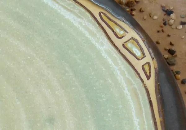 Platzteller Detailaufnahme
