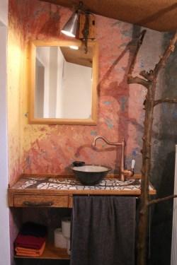 Wasch-Ecke mit Stuccolustro