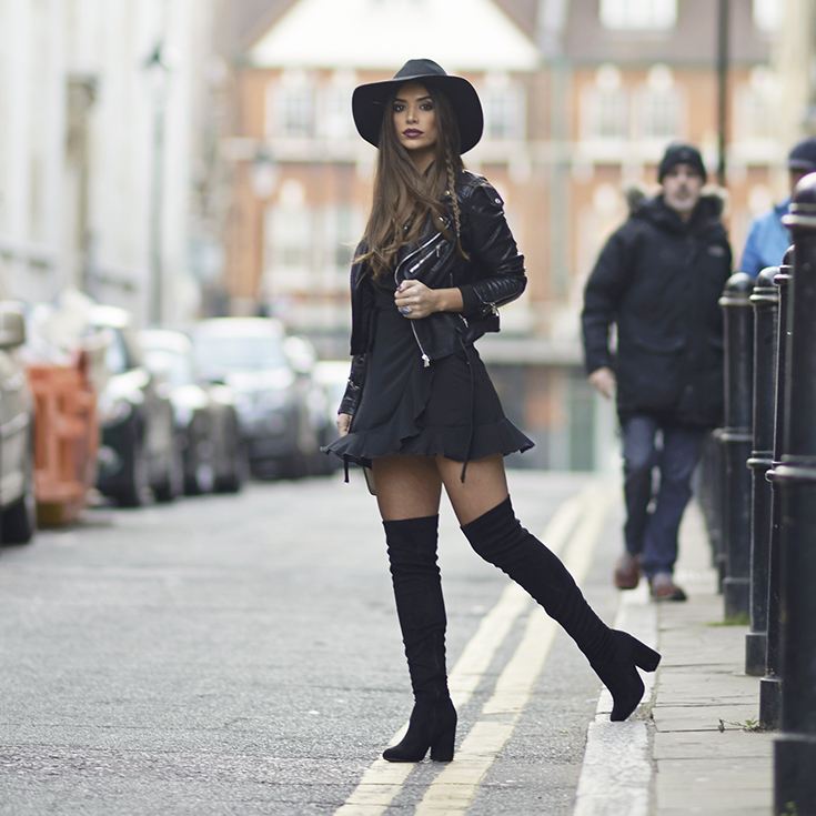 7ba060628dc4cc How To Wear Over The Knee Boots - SilkFred Blog