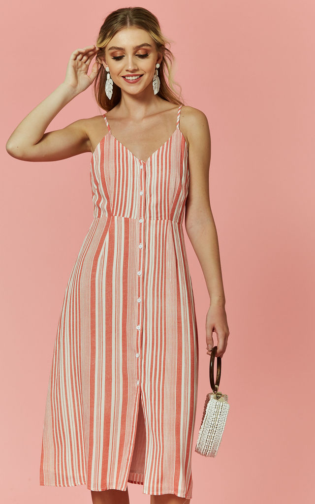 50% off stripe dress