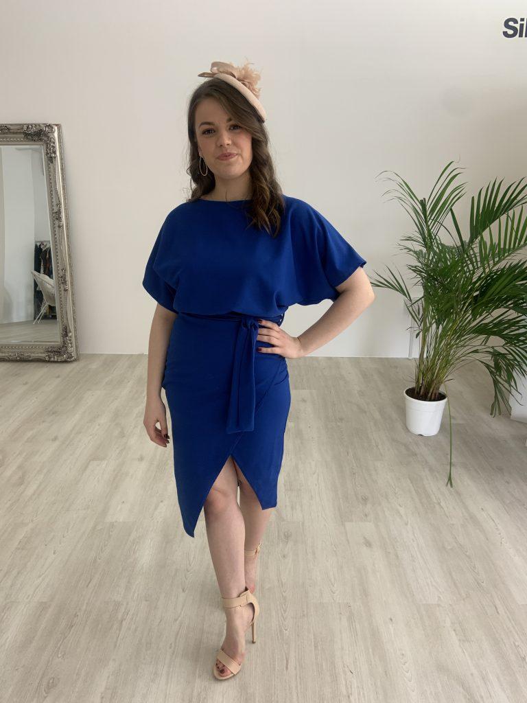 Blue Wedding Guest Dress
