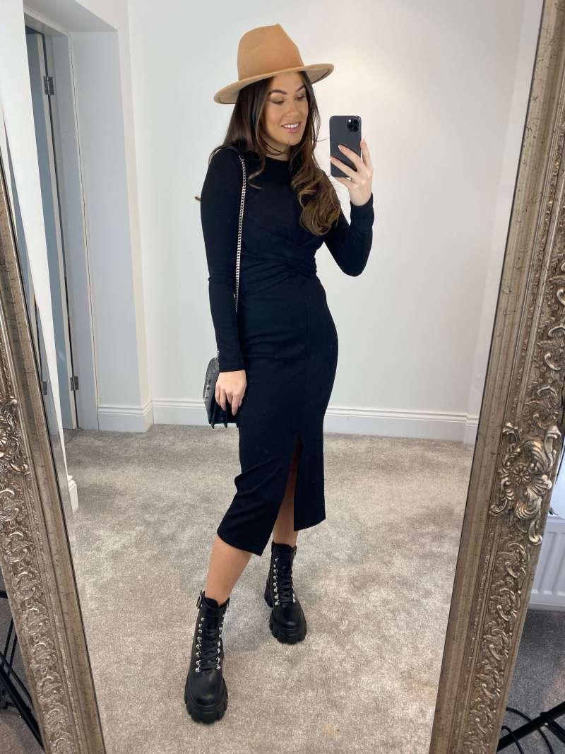 knitted-long-sleeve-wrap-midi-dress-in-black_jenerique