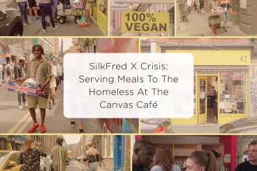 SilkFred_X_crisis_serving_meals_to_the_homeless_at_the_canvas_cafe