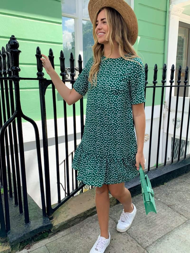 green-floral-frill-hem-t-shirt-dress_ax-paris
