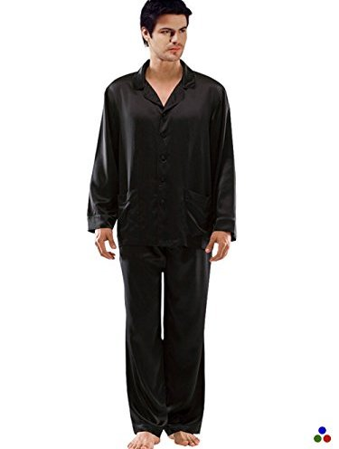 a168d7d1a0 ElleSilk Men s Silk Pajama Set