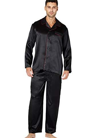 Intimo Men s Silk Pajama with Flat Piping Detail be6a8e7c2