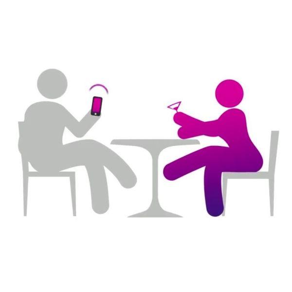 We-Vibe Jive Egg Couples Vibrator - Electric Pink