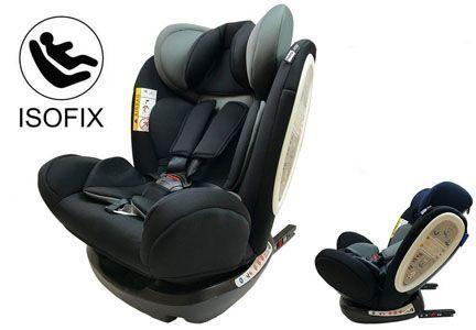 silla de coche star ibaby isofix travel grupo 2 3