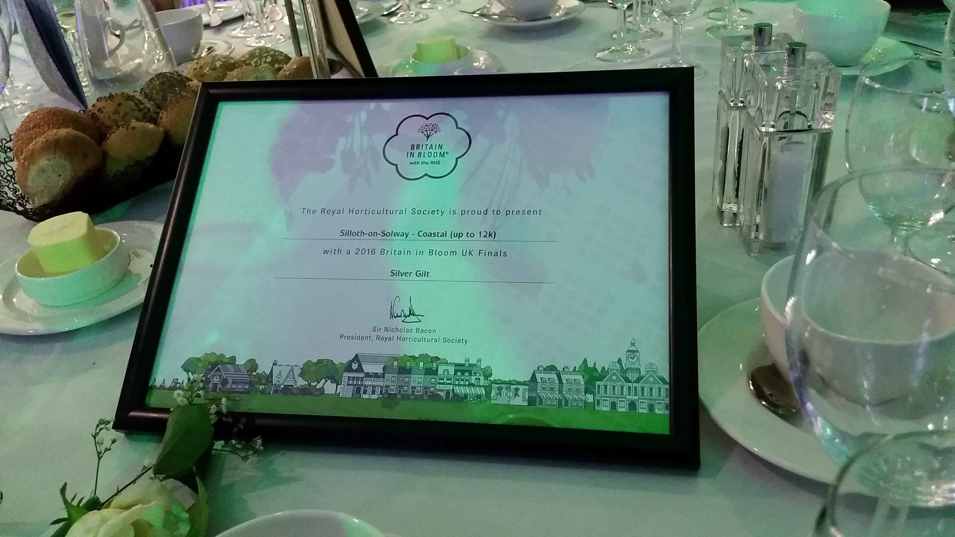 Britain in Bloom UK Finals Awards Ceremony 2016