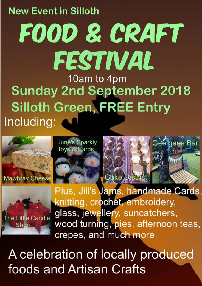 food and craft festival poster