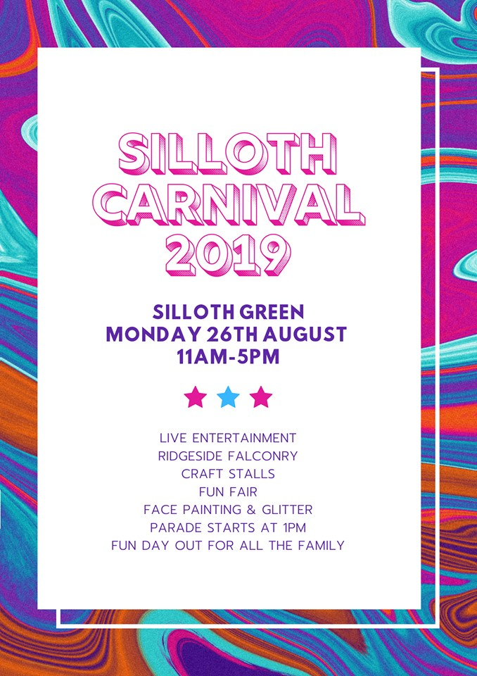 silloth carnival poster