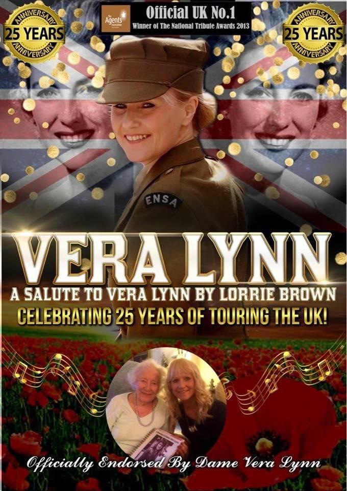 vera lynne tribute poster