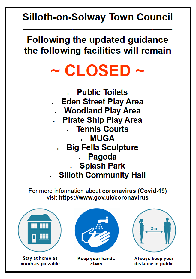 closed facilities poster