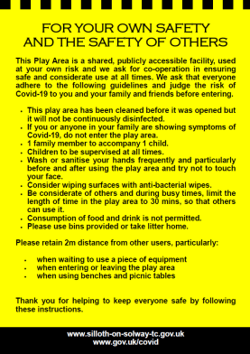 playground rules covid-19