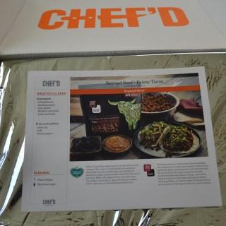 I got Chef'd!