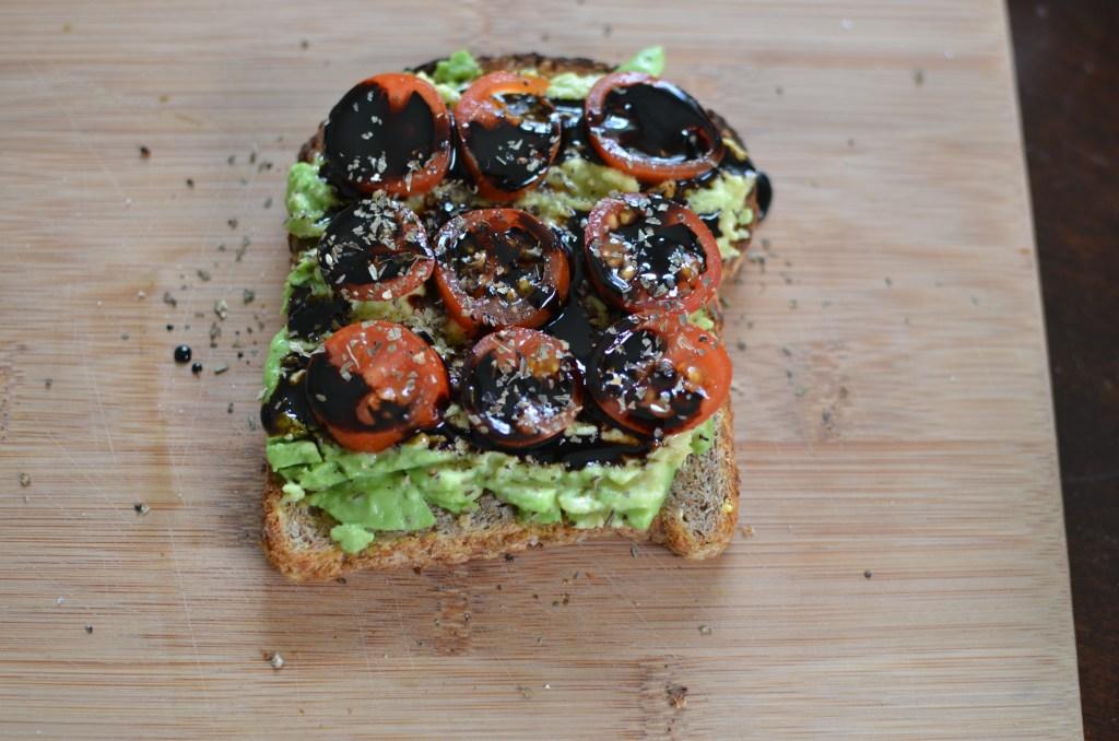 Caprese Avo Toast