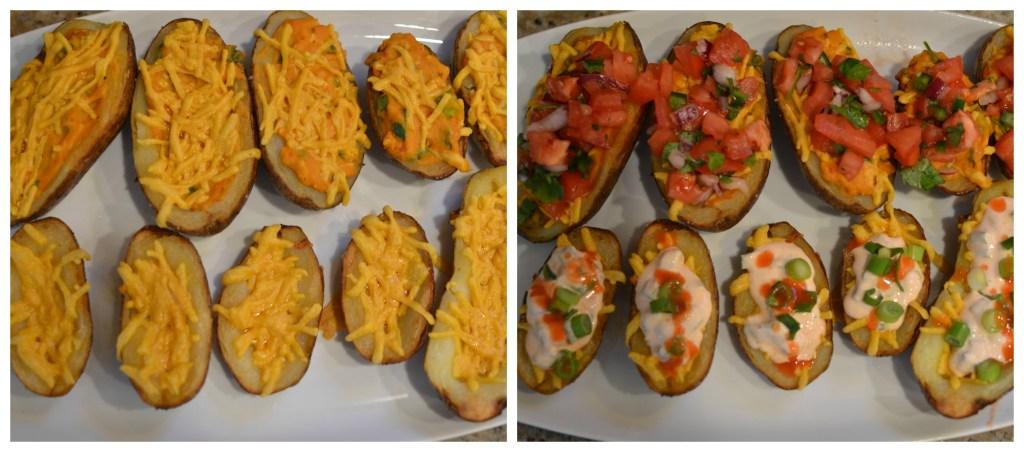 Platter of potatoes