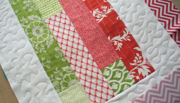 red and green runner