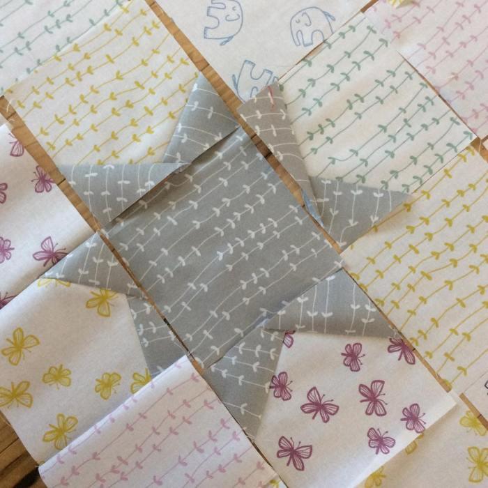 A little wonky #stellafabric @windhamfabrics @lottajansdotter for @intrepidthread this Sunday afternoon
