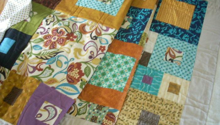 trimming quilt