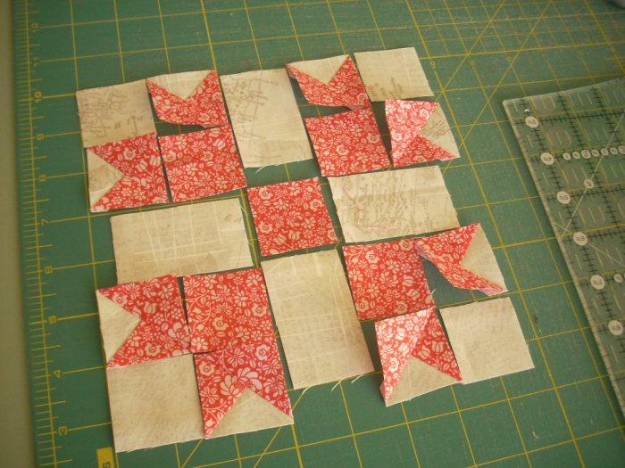 cottage Christmas sew along