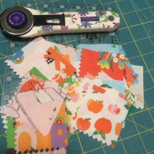 Working on a last minute christmas2017 gift heatherrossinsta windhamfabrics kinderfabricshellip