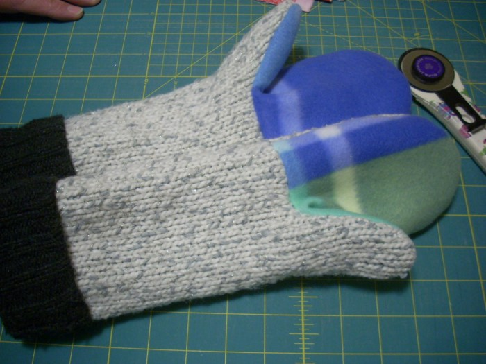making mittens