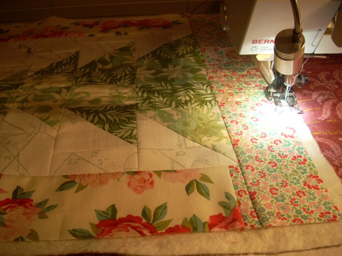 cottage Christmas sew along