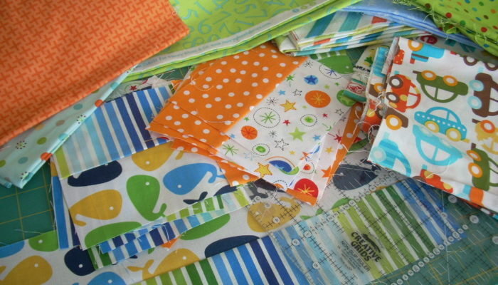 baby quilt making