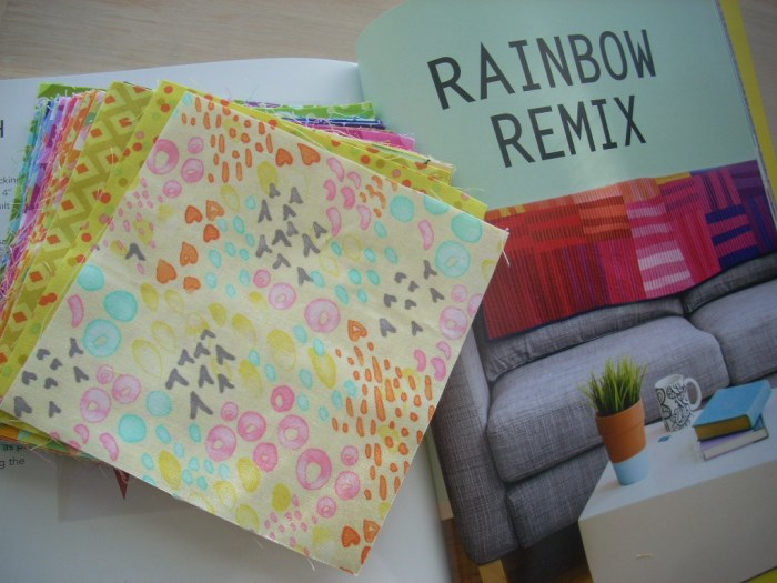 rainbow color order project