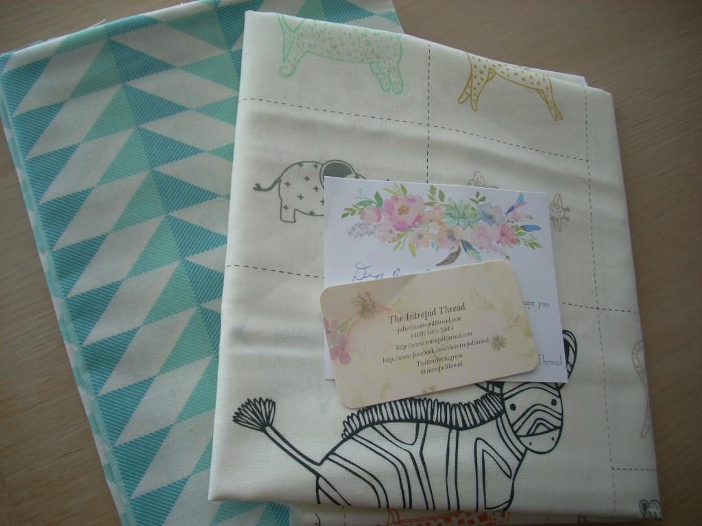fun fabric mail day