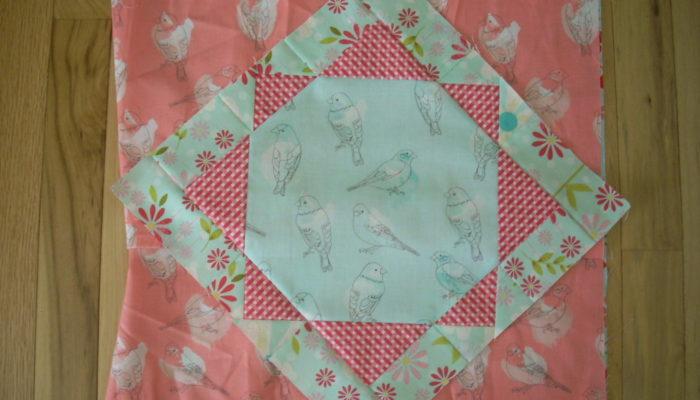 bird pillow side triangles