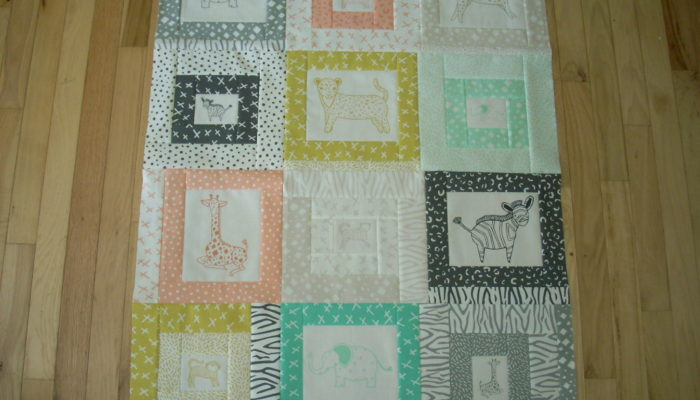savannah quilt top