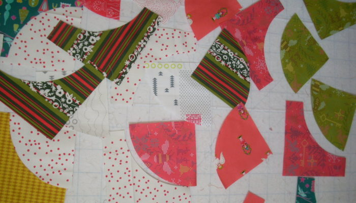 sewing with Holiday