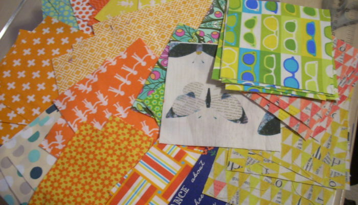 sewing a happy quilt