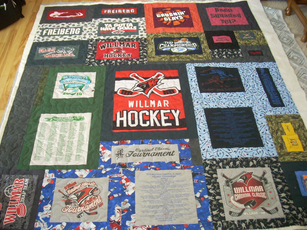 quilted t-shirt quilt