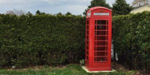 A Red K6 Phonebox