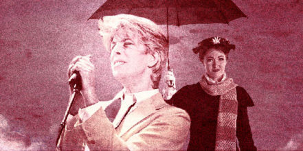 David Bowie & Mary Poppins