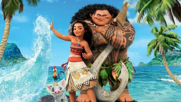 """Immagine dal film """"Oceania"""", Migliori film d'animazione 2016"""