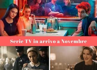 Serie TV in arrivo a novembre