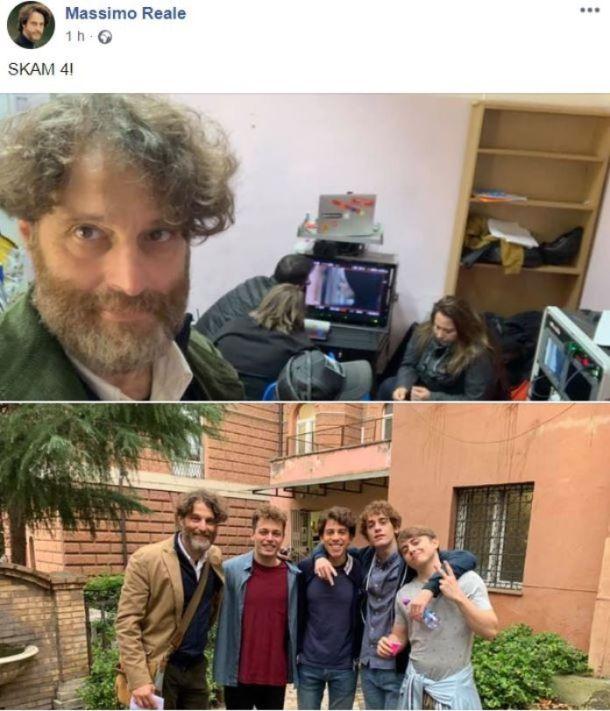 Skam italia 4 Massimo Reale