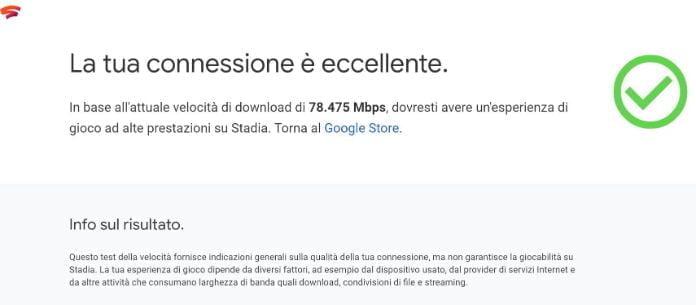 Google Stadia Test
