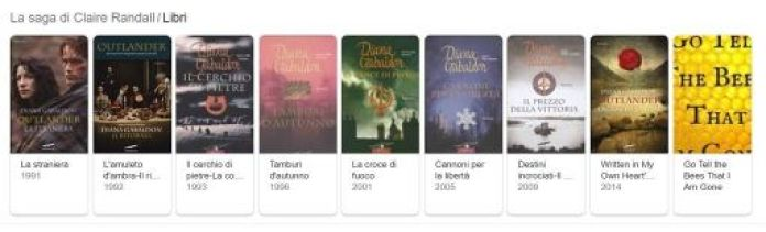 Outlander libri