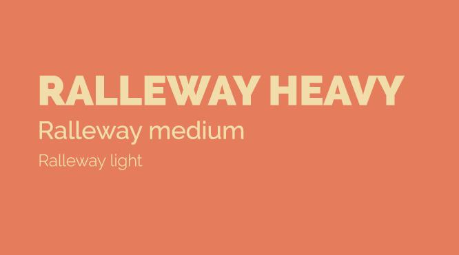 ralleway-google-font