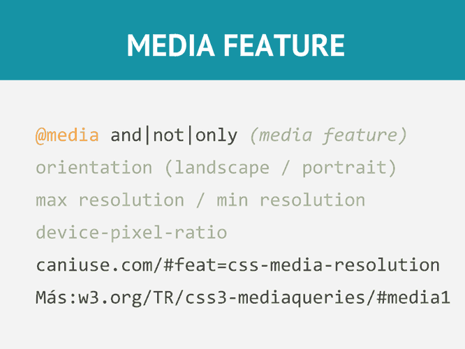 media-feature-css