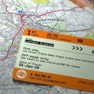 London train ticket
