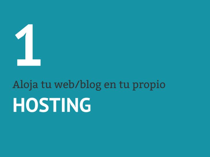 Selecciona un hosting para tu WordPress