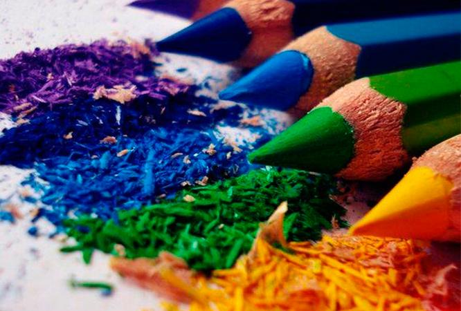 Échelle de couleurs primaires
